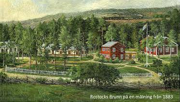 Rostocks Brunn på en målning från 1883.