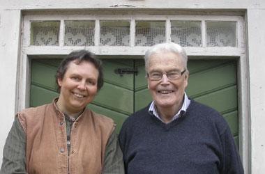 Författarna Kerstin Ljungqvist och Per-Olof Lampers