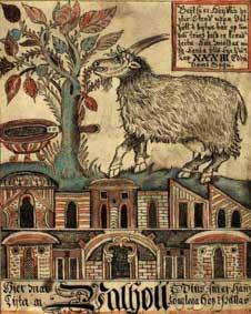 Av honungen gjordes bl.a. mjöd. På Valhalls tak stod geten Heidrun och producerade obegränsade mängder till de fornnordiska hjältarna.