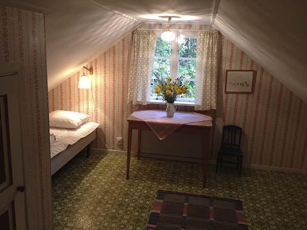 Sovrummet på södersidan