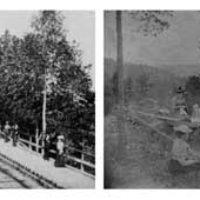 2003 års samlarbild är två stycken. De är båda tagna runt 1890 och föreställer den första anhaltsbyggnaden ovanför Rostocks Brunn. Kvaliteten på bilderna är inte den bästa men de är roliga att ha eftersom de är de enda bilder vi hittat som visar den gamla anhalten.