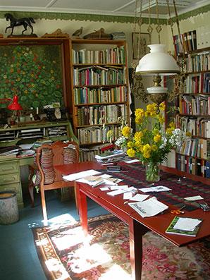 Kerstin Ljungqvists bibliotek.