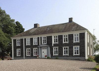 The slate house at Ekholmen.